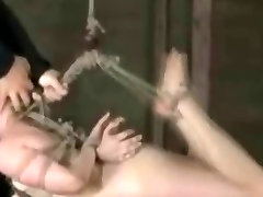 Extreme Suspension and Brutal Pain for Dildoed Slaves.