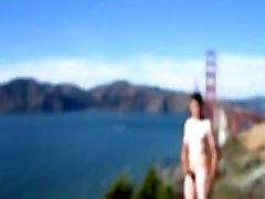Golden Gate Bridge out of focus