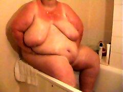 BBW Shower Video Part 1 - Part 2