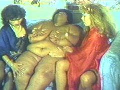 Fat ebony lesbian vintage with big chest