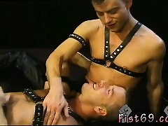 Young twink get fisted and black and white gay fist fucking
