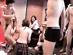 Exciting Japanese babes share their desire for hard meat an