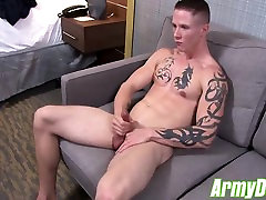 Guy Houstons sexy butt is all muscle firm and very plump