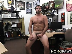 Handsome stud gets butt hole