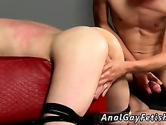 Hot brown hair guy gets gay fucked hard Fucked And Milked Of