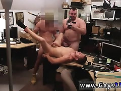 Pawn shop gay sex Guy finishes up with assfuck hook-up three