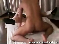 Japanese babe in rough fuck session