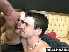 Two frat boy hunks getting fucked hard and cummed on
