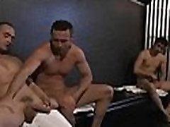 Gay chaps enjoy hot licking