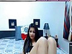Latina shows pussy and feet - More at nicefootjobs.com
