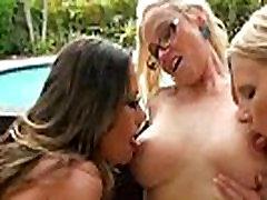 Hot Sex Scene Betweeen Mature Lesbians Brianna Ray &amp Kristen Cameron &amp Dee Siren video-14