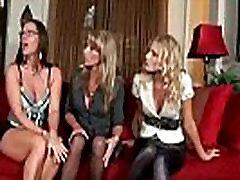 Brianna Ray &amp Kristen Cameron &amp Sarah Jackson Mature Lesbians Kissing And Licking Each Oth