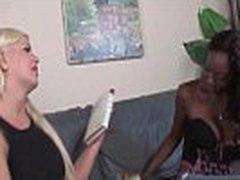 Zebra Girls - Anal Lesbian Hardcore Strapon Fucking XXX Video 04