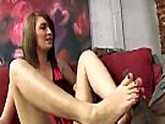 Black Meat White Feet - Interracial Foot Fetish XXX Video 01