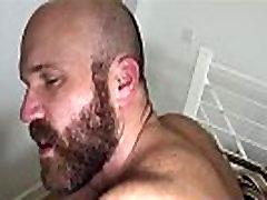 Hairy wolf assfucking bearded hunk