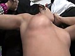 Interracial Sex Party With Sexy Slut Getting Gangbanged Rough 23