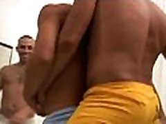 Massive gays have a fun a-hole sex