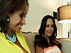 Busty Wives Ava Addams And Eva Notty Sharing A Large Prick xVDO.se