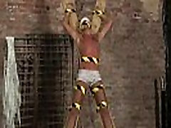 Gay sex clips movie ply xxx Blindfolded, gagged, d and flogged, the