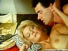 Retro porn with Anna Magle group sex scene