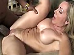 Hot Wild Mom with Big Tits gets Pounded by Black Cock 23