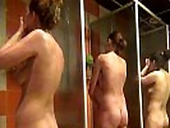 voyeur womens shower fitness club