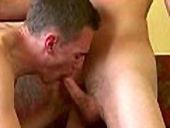 Twink sucks cock receives anal joy
