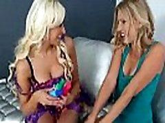 Mature Lesbians Brianna Ray &amp Holly Brooks Like Licks Kisses And Sex Toys movie-23