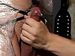 Gay bondage chastity boys and cute boy bondage Cristian is nearly