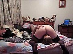 Blonde Slut licks MILF Lesbian Cunt