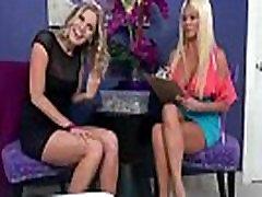 Lesbians Milfs Brianna Ray &amp Nikita Von James In Sex Tape Make Amazing Sex movie-21