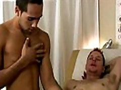Young men masturbate in doctors office and gay video medical exam