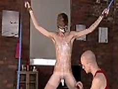 Gay fat man bondage first time Twink dude Jacob Daniels is his latest