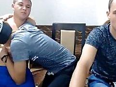 3 Romanian Boys Go Gay &amp Enjoy It 1st Time On Cam - www.thegay.webcam