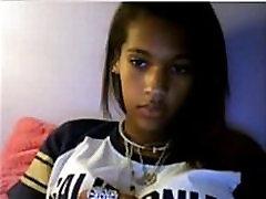 Petite Black Teen Webcam - See her MyCamsHD.com