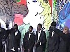 Nasty Gangbang Interracial Party And Bukkake Fest Tube Video 19