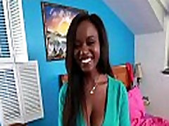 Black Amateur Makes Porn With Some Lucky Prick