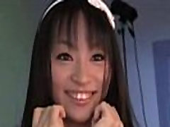 Funky Japanese Babe Chats To The Camera In An Interview on WWW.SEXYFLIRTX.COM
