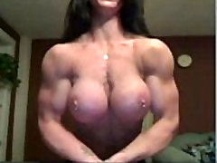 hot muscle girl webshow