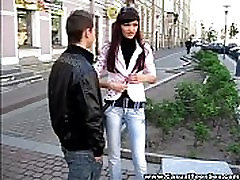 Casual Teen Sex - Cutie got creampie on a first date!