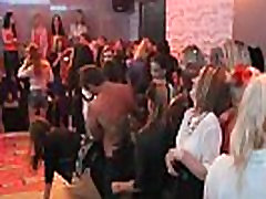 Horny Teens Blow And Bang Strippers At CFNM Party