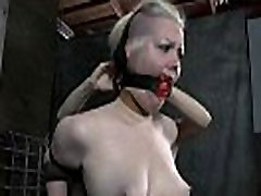 Taming a lusty gagged hottie