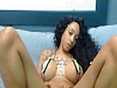 Must See HOT Busty Tatt Ebony Babe Live On Cam!