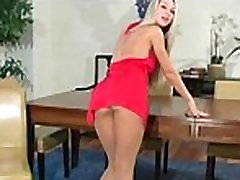 Hot a-hole in black pantyhose