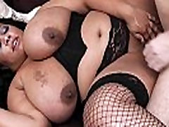 Huge titted women at work pleases her boss