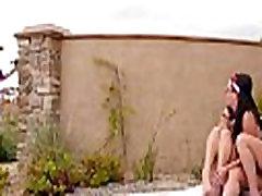 Hot lesbian Blair Summers Julia Ann amd Rahyndee James in lesbian sex