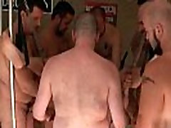 Horny gay bear Trace Leches getting gay porno