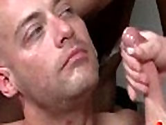 Bukkake Boys - Gay guys get covered in loads of hot cumshot 16