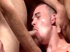 Bukkake Boys - Gay guys get covered in loads of hot cumshot 10