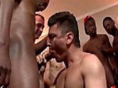 Bukkake Boys - Gay guys get covered in loads of hot semen 10